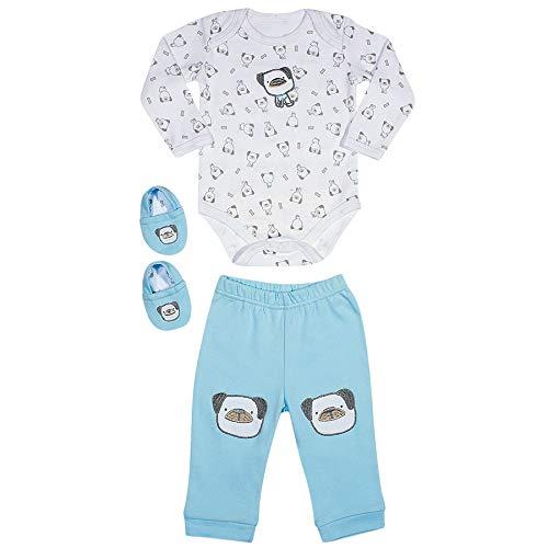 TipTop Kit Body, Calça e Meia Azul, RN