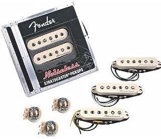 Fender Vintage Noiseless Strat® Pickups - Set of 3 (bridge/middle/neck) aged white