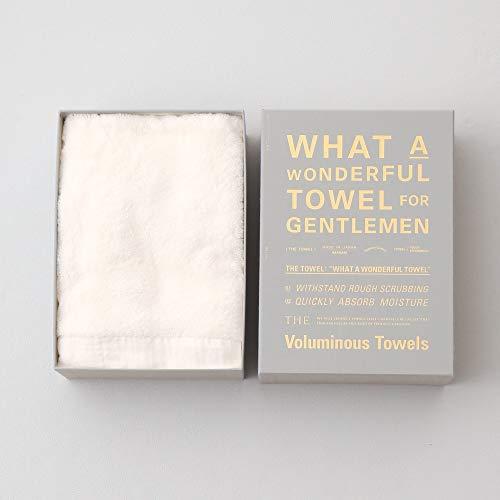 THE TOWEL for GENTLEMEN white