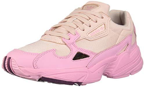 adidas Originals Women's Falcon Running Shoe, Ice True Pink/Chalk Purple, 8 M US