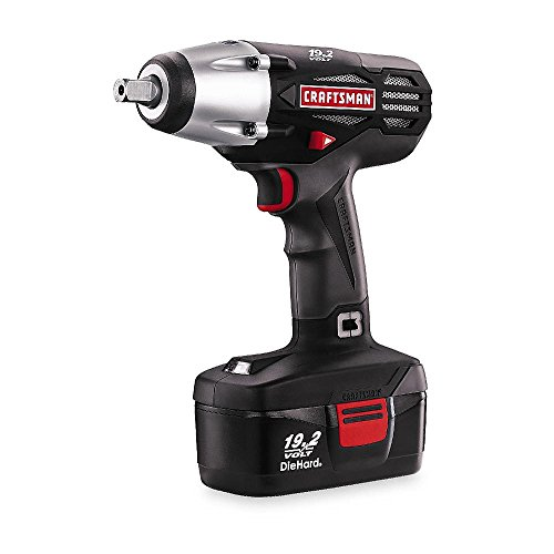 Craftsman C3 1/2' Cordless 19.2 Volt Impact Wrench Driver Kit
