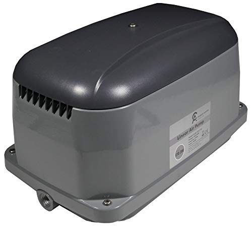 Blue Diamond Pumps ETD 150 Septic, Pond, or Wastewater Linear Diaphragm Air Pump and Aerator, This Air Pump Increases Oxygen in the Water Providing a Clean, Oil-Free Air Source that is Quiet in Use