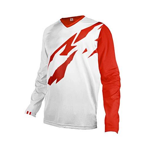 Uglyfrog+ 2019 Sport Element MX Jersey Enduro Cross Motorrad Motocross/MTB/Mountain Bike Wear Langarm Downhill Rundhals Shirt Herren Sommer/Frühjahr Style Österreich