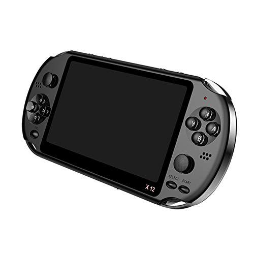LSQ 5.1 Zoll Bewegliche Handspielkonsole Dual-Joystick 8GB Vorinstallierte 1000 Spiele Unterstützungs-TV-Ausgang Video-Spiel-Maschine
