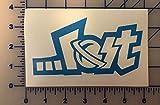 Lost Logo Decal Sticker Surf Board Surfing Reef Adventure PADI