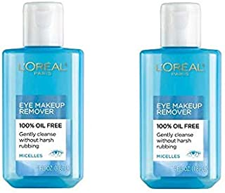 L'Oreal Paris Eye Makeup Remover 4 oz (Pack of 2)