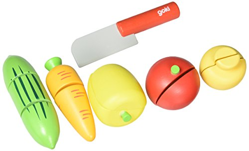 Goki 51598 Légumes avec Velcro jouet Ensemble - version anglaise