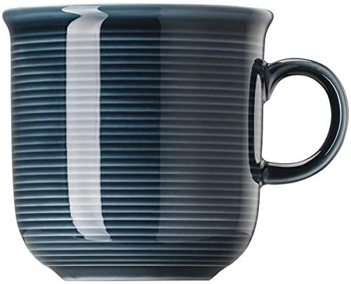Thomas Trend Colours / Farben - Becher mit Henkel - 2er-Set - Henkelbecher Mugge Humpen Haferl Tasse Kaffeebecher (Night Blue (Nacht-Blau), 2 Stück)