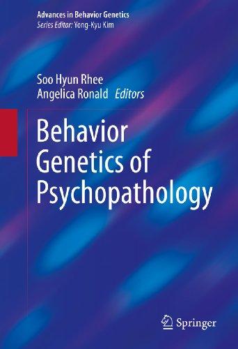 Behavior Genetics of Psychopathology (Advances in Behavior Genetics Book 2)