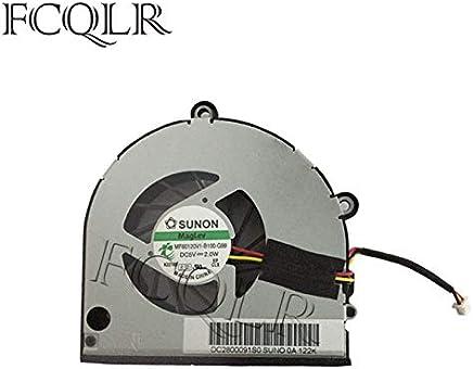 CPU Cooling Fan FCQLR Cooling Fan Compatible for ASUS FX80F ZX80F FZ80F F504GE FX80GM GPU
