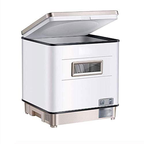 WNN-URG Independiente de la inteligencia integrada de desinfección y esterilización de secado Lavavajillas, Instalación automática de Escritorio Pequeño inteligente Mini Desinfección Armario WNN-URG