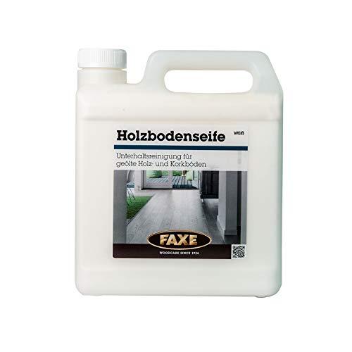 Faxe Holzbodenseife weiß 2,5 Liter für geölte, gewachste und seifenbehandelte Böden