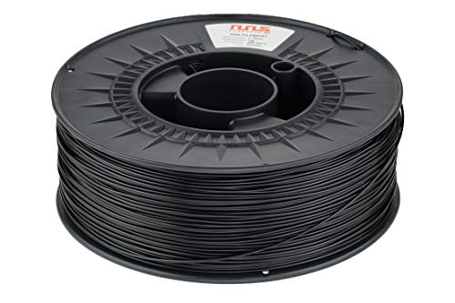 NuNus ASA Filament für 3D Drucker Material 1,75mm UV-Beständig Filament Hitzebeständig Material (Schwarz)