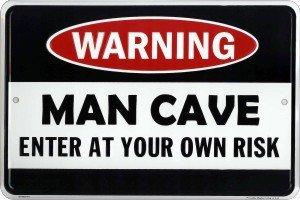 Warning Metal Door Sign