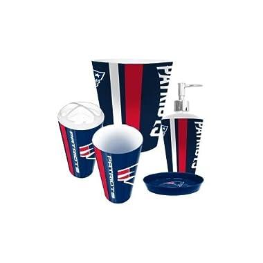 New England Patriots 5 Piece Bathroom Set