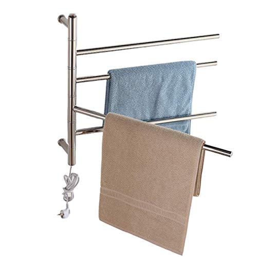 LYzpf badkamer handdoekhouder elektrische badkamerradiator handdoekradiator design radiator verwarming plat plaatverwarming thuis drogen plank