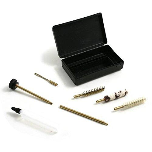 Kit de mantenimiento para armas cortas como pistolas o revólveres, 7,5 pulgadas (calibre .22 / 6,35 mm / 7,65 mm / 9 mm / .40 / .44 / .45)