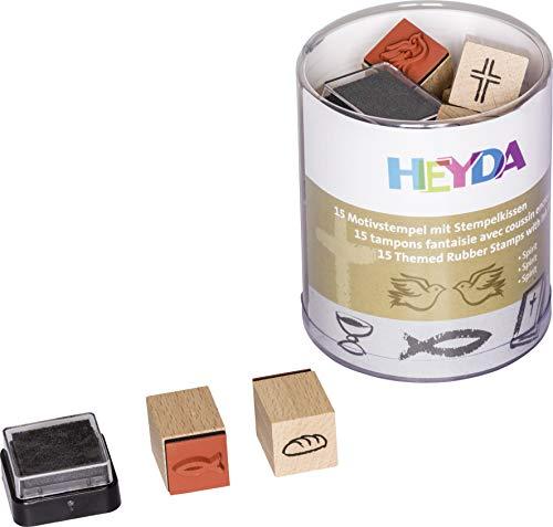 Heyda 204888483 Heyda 204888483 Stempel-Dose (Spirit) Motivgröße: ca. 1,5 x 1,5 cm