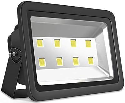 Black 100W 200W 400W 500W 600W LED Flood Light