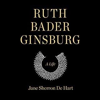 Ruth Bader Ginsburg audiobook cover art