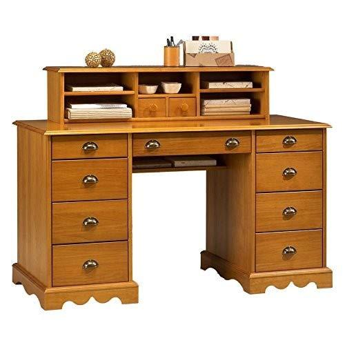 Surmeuble Table A Ecrire De Style Anglais Pin Miel 38151 Beaux Meubles Pas Chers Ameublements Et Fournitures De Bureau Etageres