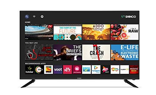 Shinco 124 cm (49 inches) 4K Ultra HD Smart LED TV SO50QBT (Black) (2021 Model)