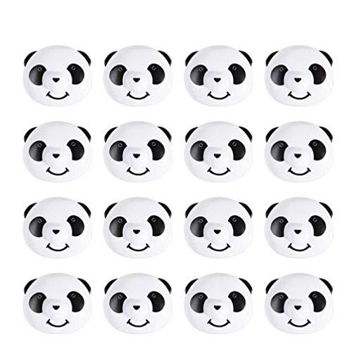 VOSAREA 17 Piezas edredón de Agarre edredón Clips edredón en Forma de Panda Clips Sujetadores edredones Sujetadores edredones Antideslizantes