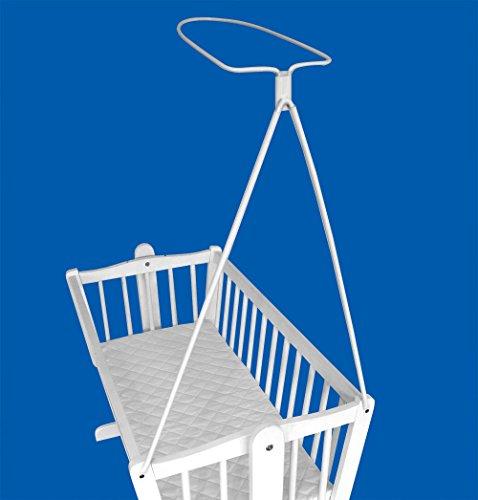 Halterung für Betthimmel/Tuch Halterung für Baby Kinderbett Wiege Schraube ausgestattet