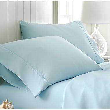 ienjoy Home Pillow Case Set Standard Aqua