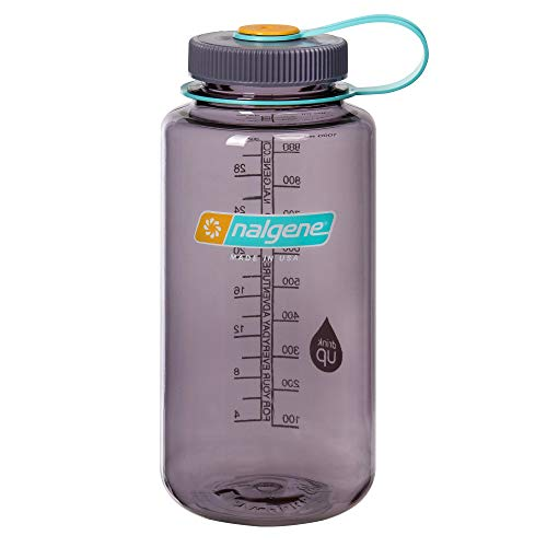 Nalgene Uni Klassiker Wh Trinkflasche, Aubergine Grau, 1 Liter