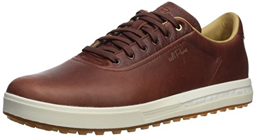 Brown Leather Adidas Shoes for Men