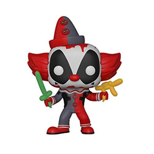 ZEwe Pop Deadpool Joker Edición Especial Mini Q Versión 3.9inches Colección Acción PVC Figura EP PVC