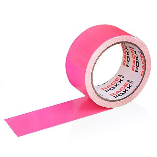 Gaffa/Gaffer Tape, Gewebeklebeband, Lasso, Panzertape, Klebeband, Kleber, neon pink, RACEFOXX