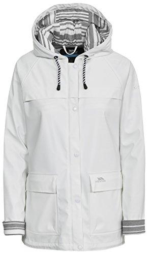 Trespass damska błoto wodoodporna kurtka przeciwdeszczowa/zewnętrzna biały M