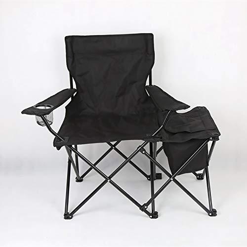 Lxxzz Camping Folding Director Chair Mit Kühltasche Und Beistelltisch Leichte High Back Camping Chair Outdoor Tragbaren Strandkorb Für Barbecue Beach Picknick Wandern