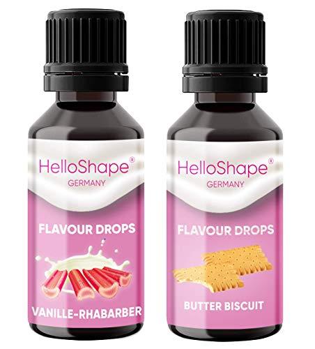 Flavour Drops zuckerfrei Set 2x 30 ml -...