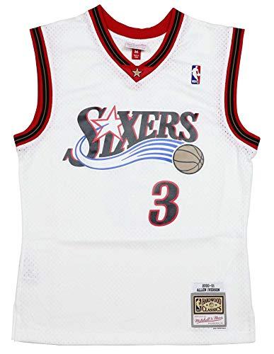 Mitchell & Ness NBA Swingman Road Jersey Philadelphia 76ers Allen Iverson L