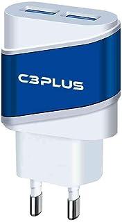 Carregador Ac/Usb C3Plus Universal 2A Branco - Uc-20Swh