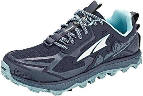 ALTRA Women's AL0A4QTX Lone Peak 4.5 Trail Running Shoe, Navy/Light Blue - 10 M US