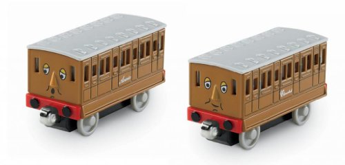 4KIDS Toy / Game Thomas The Train: Take-N-Play Annie and Clarabel Two-Pack - Great Addition to Your Collection