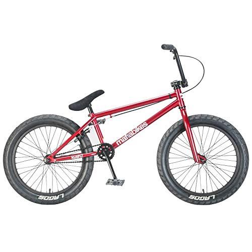 Mafiabikes Kush 2 20 inch BMX Bike Red Boys and Girls Bicycle