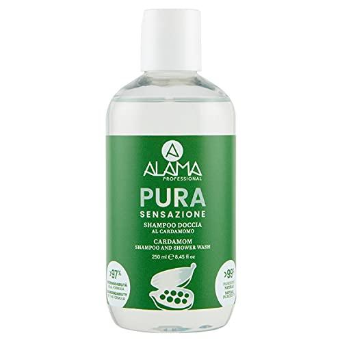 A ALAMA Professional Shampoo Doccia Pura Sensazione, Giallo, 250 Millilitro