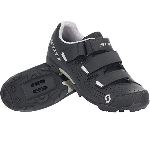 SCOTT Zapatilla MTB Comp RS Lady Ciclismo, Mujer, Black/Silver, 42