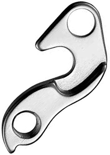 MCM Cycling GH-083 Gear Hanger, Silver, one size