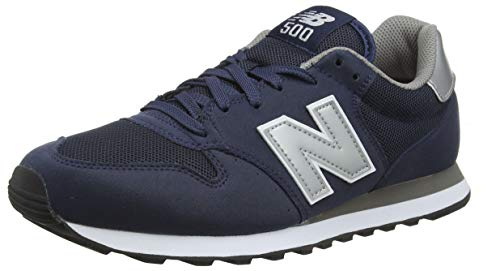 New Balance 500 Core, Baskets Homme, Navy/Grey Navy, 42.5 EU
