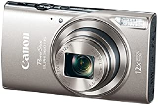 Canon PowerShot ELPH 360 Digital Camera w/ 12x Optical Zoom and Image Stabilization - Wi-Fi & NFC Enabled (Silver)