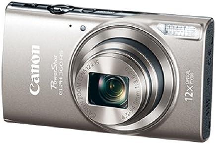 Canon PowerShot ELPH 360 HS 20,2 Megapíxeles Cámara digital con 12x Zoom óptico 3,0 pulgadas TFT LCD y Wi-Fi integrado (negro)