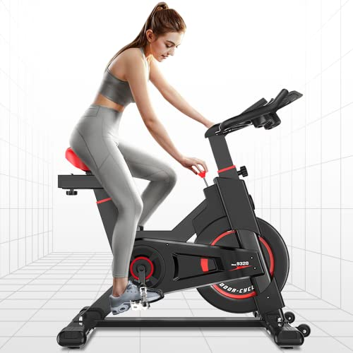 iPro Stationary Exercise Bike Indoor Cycling Infinite Resistance Spinning...