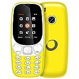 Brigmton 4430040423 - Teléfono móvil Dual SIM (Pantalla de 1.77', Bluetooth, cámara de 0.8 MP,...