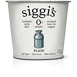 Siggi's, Fat Free Plain, 5.3 oz